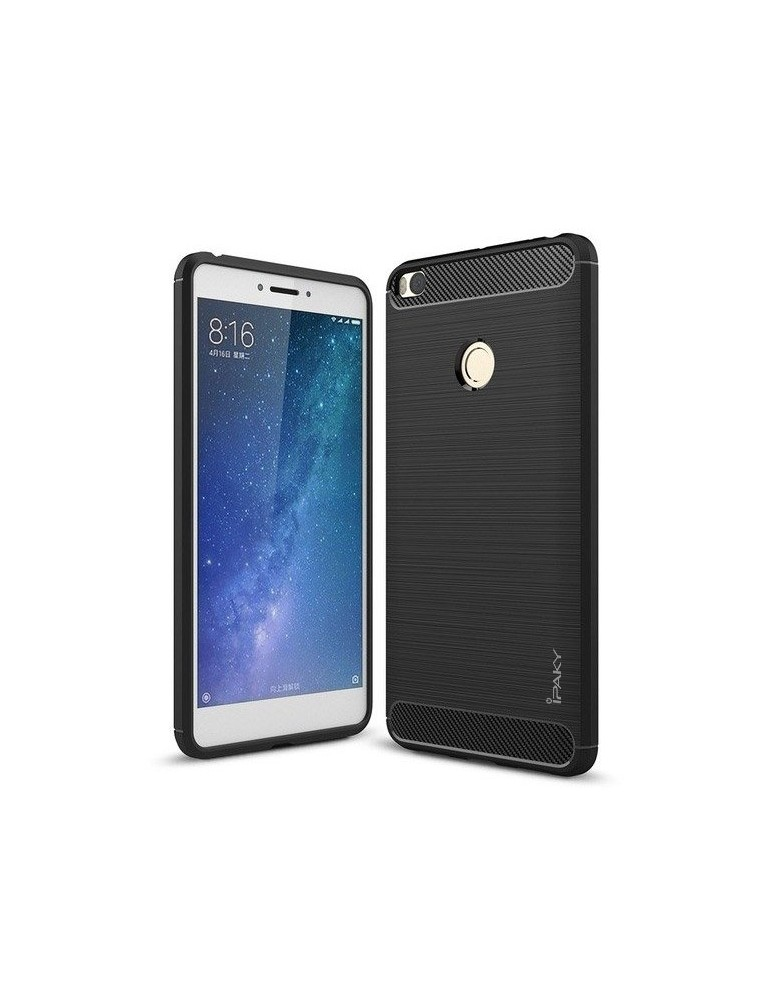 Mi Max 2 Carbon Slim Case by Ipaky